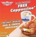 free cappucino
